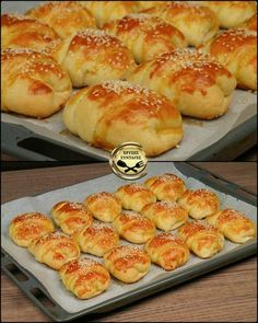 Samosa Recipe, Greek Recipes, Pretzel Bites, Hot Dog Buns, Food And Drink, Appetizers, Cooking Recipes, Bread, Snacks