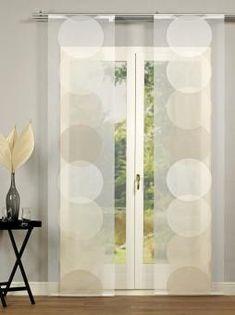 taupe mit wei und spitze gardinen store gro e fenster deko pinterest gro e. Black Bedroom Furniture Sets. Home Design Ideas