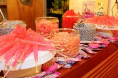 Our amazing candy selection from Handsome Dans candy shop!