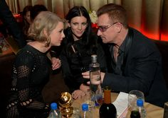 #TheTrineGroup #GoldenGlobes2014 #AfterParty #TaylorSwift #Bono