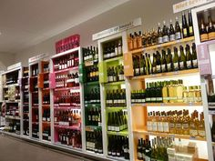 Supermarket Design | Retail Design | Beers, Wines & Spirits | Retail Design | Wine Store | BWS | Jumbo wine