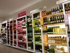 Supermarket Design | Retail Design | Beers, Wines & Spirits | Retail Design | Wine Store | BWS | Jumbo wine