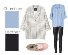 Chambray & Leather | 26 Essential Fall Color Palettes You Need To Try