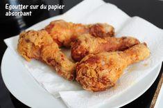 Pilons de poulet frit et potatoes à l'actifry - La popote de Manue