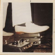 RON'S SHOE   (The Stooges, Funhouse, 1970, Vox Tone Bender fuzz)
