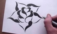 easy roses drawings step by step - Google Search