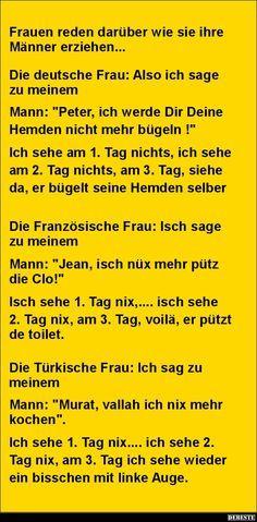 Frauen reden darüber wie sie ihre Männer erziehen... | DEBESTE.de, Lustige…