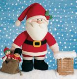 Knitted Father Christmas Pattern Free : 1000+ images about Jean Greenhowe on Pinterest Knitted toys patterns, Newpo...