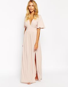 Image 1 ofLove Kimono Sleeve Maxi Dress