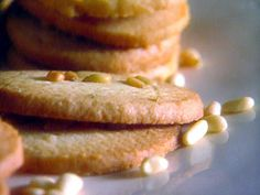 Get Pine Nut Cookies Recipe from Food Network