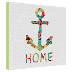 Bianca Green You Make Me Home Gallery Wrapped Canvas