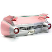 image of 1959 Pink Cadillac Eldorado Rear Bumper Wall Shelf 1959 Cadillac, Pink Cadillac, 50s Decor, Retro Home Decor, Bedroom Themes, 50s Bedroom, Bedroom Stuff, Bedroom Ideas, Wall Shelves