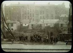 North Cumberland Street Upper - The site of Nos The buildings demolished in the foreground open up a vista to the houses and news of Gardiner Street. Note the size of the buildings and the vacant rubble strewn space they leave behind. Old Pictures, Old Photos, Sean Mcdermott, Museum Plan, Irish People, Ireland Homes, Photo Engraving, Irish American, Dublin Ireland