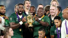 Another Rugby World Cup triumph, another iconic moment for South Africa: YOKOHAMA — They started carving South Africa's name into the Webb… First World Cup, World Cup Final, Springbok Rugby Players, Siya Kolisi, Champions Of The World, All Blacks, Rugby World Cup, The Championship
