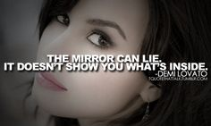 Mirrors don't show you everything...