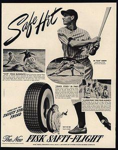 1941-JOE-034-FLASH-034-GORDON-NEW-YORK-YANKEES-FISK-Tires-VINTAGE-AD
