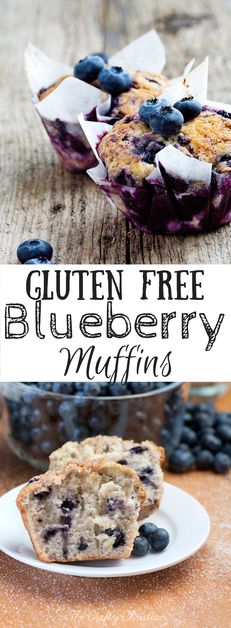 Christmas Morning Delight: Gluten Free Blueberry Muffins - The Crafty ChristianEmailFacebookInstagramPinterestTwitter