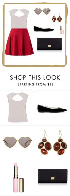 """""""Untitled #204"""" by arijana-cehic ❤ liked on Polyvore featuring Chesca, MICHAEL Michael Kors, Wildfox, The Sak, Clarins and Dolce&Gabbana"""
