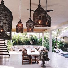 A four bedroom villa with the most amazing interiors located in #Canggu #Bali ~ #PuriBejiVillas @puri_beji : @phineloves