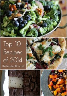 Top 10 Recipes of 2014 from TheRoastedRoot.net @roastedroot