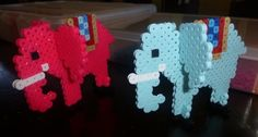 3D Perler Bead Patterns | 3D Elephants perler beads by Sofia A. - Perler® | GalleryPeeler Beads ...