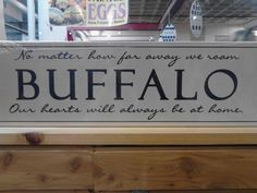 I left thirty-five years ago, but it still defines who I am. Truly great people in Buffalo.