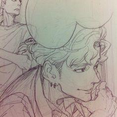 Bosetos dibujos Haircut Style haircut styles for women 2018 Comic Kunst, Comic Art, Pretty Art, Cute Art, Cool Drawings, Drawing Sketches, Manga Art, Anime Art, Arte Fashion
