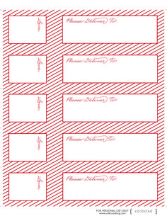 Wrap Around Address Labels For Word Free Template Httpwww - Envelope label template