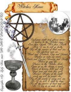 COLOR Book Of Shadows Page 15 Witch's Rune Charmed,Wicca, Witch,Oil,Herb picclick.com