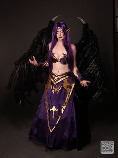 Morgana from League of Legends cosplay at Salt Lake Comic Con 2015