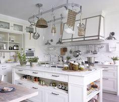 Meuble bas de cuisine pour four en bois blanc L 70 cm Newport ...