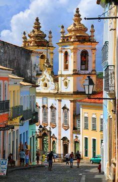 Historic Centre of Salvador de Bahia, Brazil