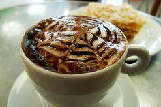 Cappuccino e massa foleada