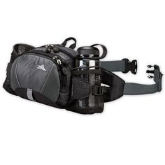 High Sierra Express Lumbar Pack, Black/Tungsten/Black - http://www.campingandsleepingbags.com/high-sierra-express-lumbar-pack-blacktungstenblack/