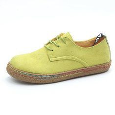 c42825e59 SOCOFY Size 5-11 Flats Loafers Shoes - Banggood Mobile Loafer Flats