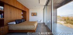 David Lauer Photography - mid century modern bedroom