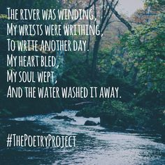 """""""The River"""", poem by Amber Craig."""