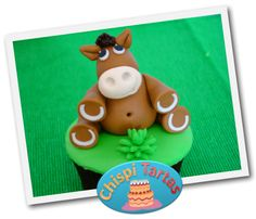 Modelado caballo pasta de goma