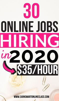Latest Work At Home Job Leads Searching for online jobs from home to earn you money in 2020 and beyond? Get this awesome list of remote jobs hiring even beginners! You can jumpstart your work from home career next year with ease. Legit Work From Home, Legitimate Work From Home, Work From Home Tips, Work At Home Jobs, Earn Money From Home, Make Money Fast, Earn Money Online, Earning Money, Making Money From Home