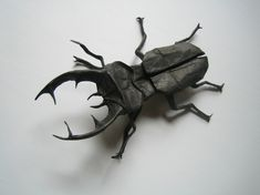 Origami beetle by Brian Chan