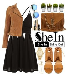 """""""Shein"""" by oshint ❤ liked on Polyvore featuring Yves Saint Laurent, Oasis, Michael Kors, Billabong, Sydney Evan and Lana"""