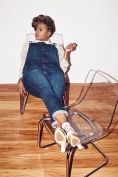 Rich Hipster: Your online home for art, music, fashion & more by Chrisette Michele Chrisette Michele, Dressing Room, African Fashion, Braid, Plus Size Fashion, My Girl, Jumpsuits, Natural Hair Styles, Fashion Beauty