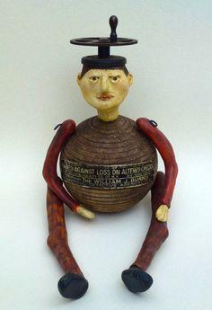 A wonderful art doll from Copper Crow Studio!