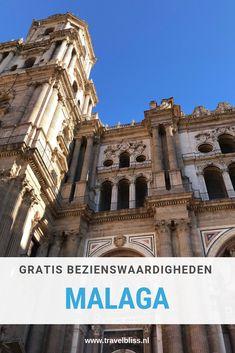 Op zoek naar gratis bezienswaardigheden in Malaga? Malaga is een bruisende stad met een prachtig historisch centrum, mooie bezienswaardigheden en leuke tapa barretjes. In deze stad kun je ook nog kosteloos genieten van kunst en cultuur want er zijn genoeg gratis bezienswaardigheden in Malaga. Dus op zoek naar Malaga on a budget? Lees dan vooral verder op www.travelbliss.nl | reizen | reistips | travelbliss | malaga | spanje | reisblog | #reizen #reistips #malaga #spanje Canary Islands, Spain Travel, Valencia, Dutch, Madrid, Travelling, Travel Tips, Barcelona, Blogging