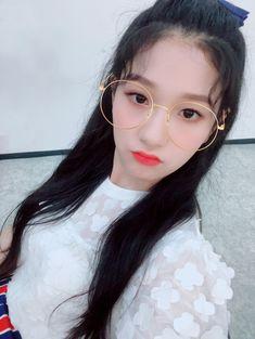 South Korean Girls, Korean Girl Groups, Lee Seo Yeon, Glass Shoes, Have Some Fun, Hoop Earrings, Band, Stone, Glasses
