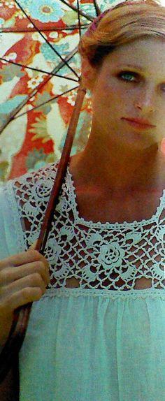 4 FourVintage Crocheted Yoke Pattern by MAMASPATTERNS on Etsy