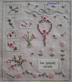 Herbs Embroidery. Can be embro