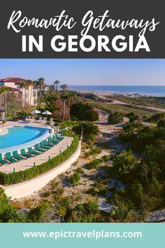 Romantic Resorts, Romantic Weekend Getaways, Romantic Beach, Romantic Travel, Best Honeymoon Destinations, Vacation Places, Travel Destinations, Spa Resorts In Georgia, Beach Resorts