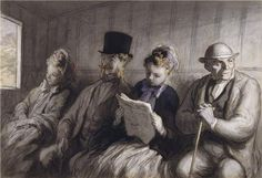 Honore Daumier - one of the greatest painters/illustrators. His works are so intricate.