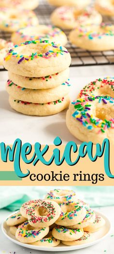 Delicious, buttery sugar cookies great for a birthday party, Cinco de Mayo celebrations, or just when you want a chewy sugar cookie.